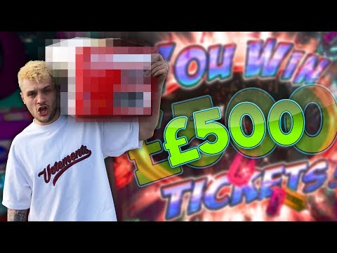 Here's What £500 Can Win You On Arcade Jackpot Machines.. (видео)