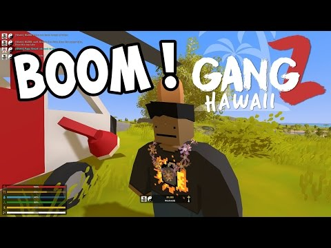 UNTURNED GangZ - New Map! New Friends! New Enemies! S5E01 (Hawaii Map Multiplayer PvP) (видео)