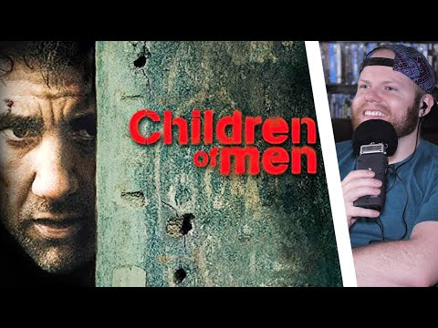 CHILDREN OF MEN (2006) MOVIE REACTION!! FIRST TIME WATCHING!