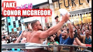 Video Fake Conor McGregor Pranks New York City! MP3, 3GP, MP4, WEBM, AVI, FLV Oktober 2018