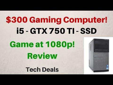 $300 Gaming Computer - Review - i5-2400 - 4GB - GTX 750 TI - 120GB SSD - 1TB HDD