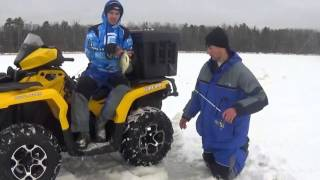 In this episode of Team Yukon Outdoors Staffer Adam Bartusek ventures up to Northern Minnesota with Ice Team / Vexilar Pro Nick Kerber, Guest Host Joe Forema...