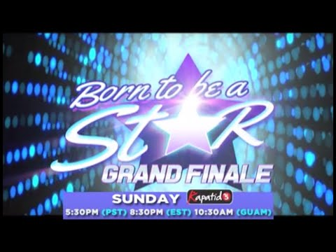 Born to be a Star FINALS this May 29 on Kapatid TV5 North America