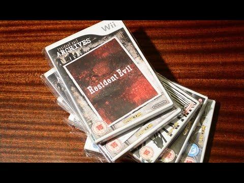 Обзор и распаковка 5 игр серии Resident Evil на Wii