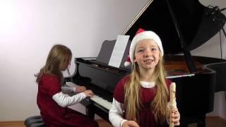 Download Lagu Morgen kommt der Weihnachtsmann gespielt von Carolin und Helena Mp3
