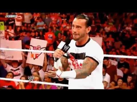WWE Night Of Champions 9/18/11 - Triple H vs Cm Punk (No DQ Match) Promo 2011 *HD*