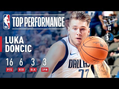 Video: Luka Doncic Makes His Preseason Debut With Dallas Mavericks!