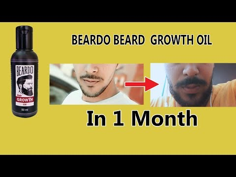 Beard oil - Beardo beard growth oil review // (result after one month use) // Sachinpanwarlifestyle