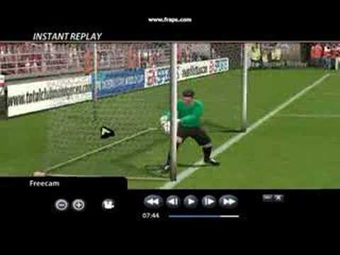 0 Goal line technology doesnt even work in FIFA 06