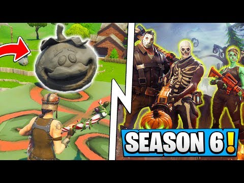 *NEW* Fortnite Update! | Season 6 News, Tomato Event, Gold Pickaxe!