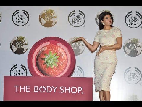 Jacqueline Fernandez As Brand Ambassador Of The Body Shop India