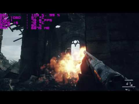 Battlefield 1 - GTX 1060 - Ultra Settings - 1080p Frame Test
