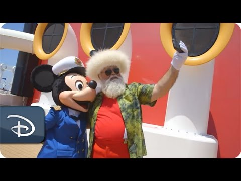 Santa%27s Summer Vacation with Disney Cruise Line %7C Disney Parks