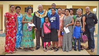 Fijian Prime Minister Voreqe Bainimarama this morning handed over four welfare homes to families of fallen Fijians. The event was attended by Government ...