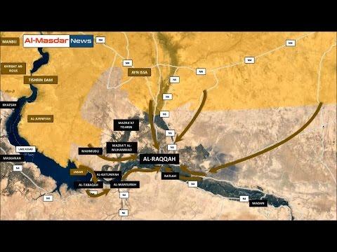 2 января 2017. Военная обстановка в Сирии. Наступление на Ракку. Русский перевод. (видео)