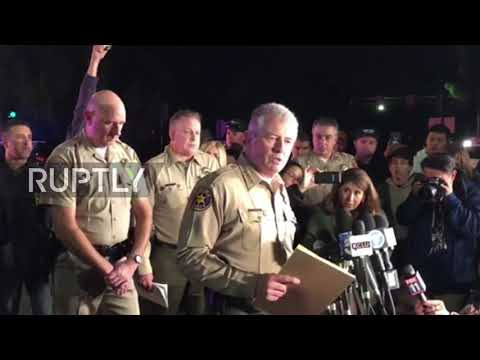 USA: Sheriff confirms 12 dead in Thousand Oaks shooting