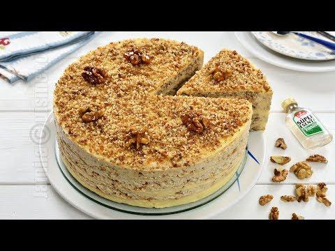 Tort egiptean cu nuci caramelizate (CC Eng Sub) | JamilaCuisine