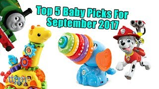 Top 5 Baby Gear in September 2017
