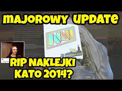 UPDATE CS:GO - EPICKIE NAKLEJKI, PickEm i pogadanka o Majorze Sztokholm 2021! 😲
