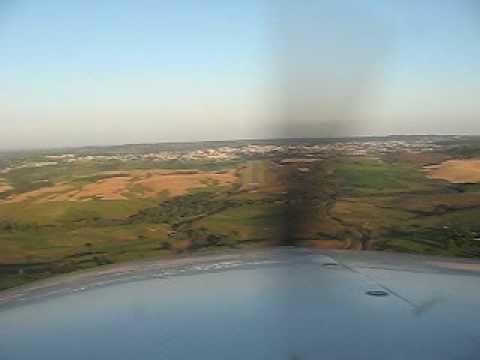 Pouso Cessna 206 Turbo Stationair em Curitibanos/SC