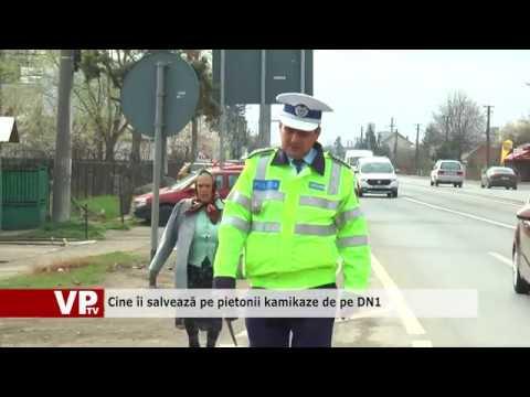 Cine îi salvează pe pietonii kamikaze de pe DN1