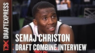 Semaj Christon Draft Combine Interview