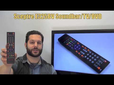 Sceptre E325BV Soundbar-TV-DVD Combo Remote Control - www.ReplacementRemotes.com