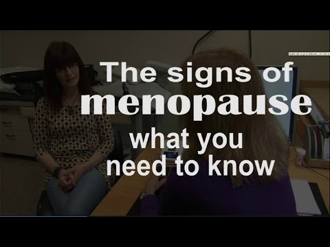 How to spot the signs of menopause