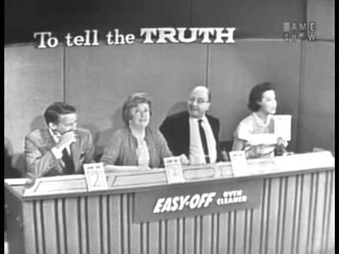 To Tell the Truth - Commissioner of Indian affairs; PANEL: Abe Burrows (Oct 28, 1963)