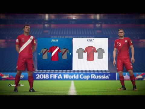 ALL WORLD CUP 2018 TEAMS, KITS, RATINGS + PLAYERS!!! | NEW FIFA 18 WORLD CUP GAMEMODE