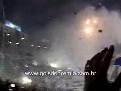 Grenal 29/06/08 - Entrada em Campo Sensacional - Geral do Grêmio - Grêmio