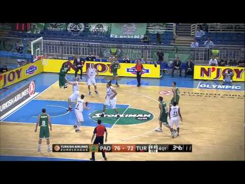 Dunk of the night: James Gist, Panahinaikos Athens