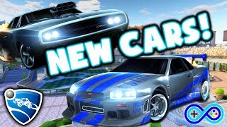 Nonton Two NEW Fast and the Furious cars for ROCKET LEAGUE! Skyline and '70 Charger! Film Subtitle Indonesia Streaming Movie Download