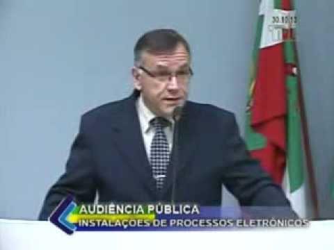 Audiência Pública Processos Eletrônicos OAB/Lages Parte 01