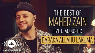 Video Maher Zain - Baraka Allahu Lakuma (Live & Acoustic - New 2018) MP3, 3GP, MP4, WEBM, AVI, FLV Oktober 2018