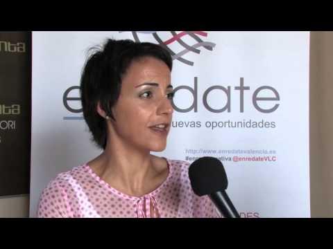 Loles Sancho. Loles Sancho Comunicación Enrédate Xátiva 2014