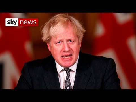 In full: Boris Johnson holds news briefing as more areas set for Tier 4