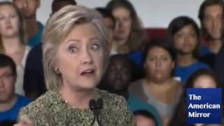 What was wrong with Hillary Clinton's eyes during Philly speech?