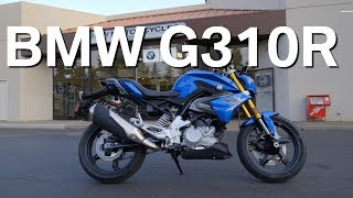 1. NEW 2018 BMW G310R TEST RIDE & REVIEW (US VERSION)