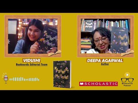 Booknerds Podcast | Deepa Agarwal | Kashmir!Kashmir!