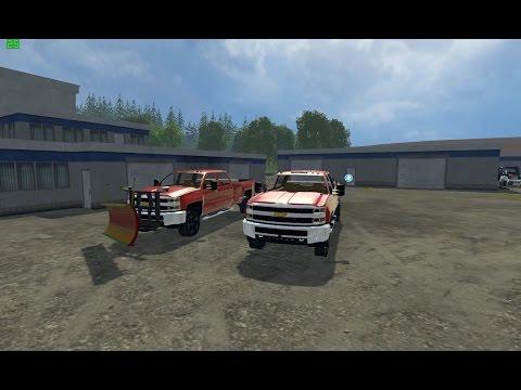 Chevy 3500 plow truck v1.0