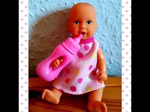 New Born Baby Mini Puppe mit Zubehör