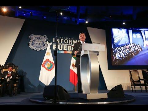 Un año de progreso para Puebla con Tony Gali.