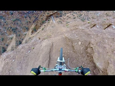 over - Shot 100% on the HD HERO3+® camera from ‪http://GoPro.com. Kelly McGarry flips a 72-foot-long canyon gap at Red Bull Rampage 2013 to earn a 2nd place finish....‬