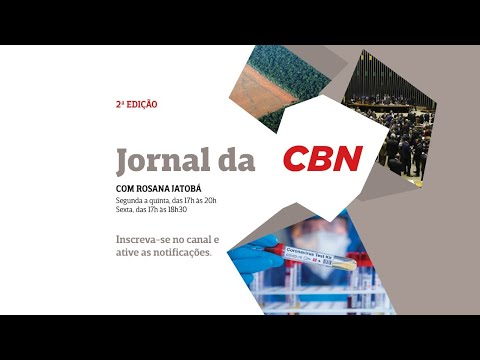 Jornal da CBN - 2ª edição - 21/10/2020