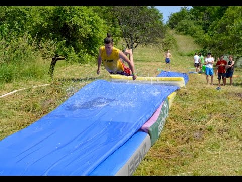 Homemade Waterslide - Extreeme