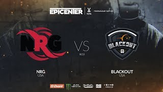 NRG vs. BlackOut - EPICENTER 2018 NA Quals - map1 - de_train [SSW]
