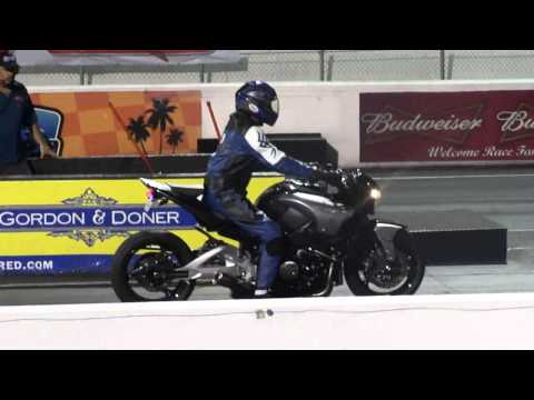 1340 - Suzuki B-King (Onboard) *Win* 1/4 mile - 9.57.