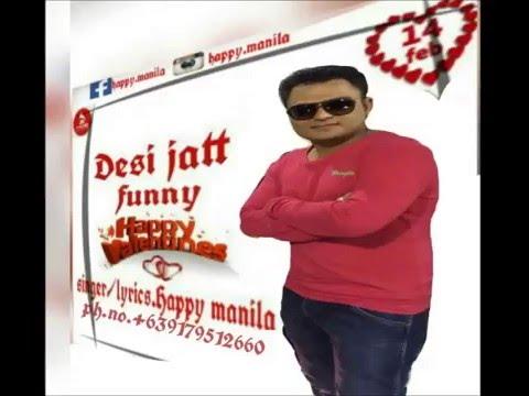 [VIDEO] Spoof of Desi Jatt by Happy Manila | Valentines Special - Troll Punjabi
