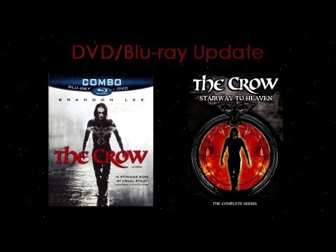 The Crow Blu-ray and The Crow Stairway to Heaven Complete Series - DVD and Blu-ray Update/Review
